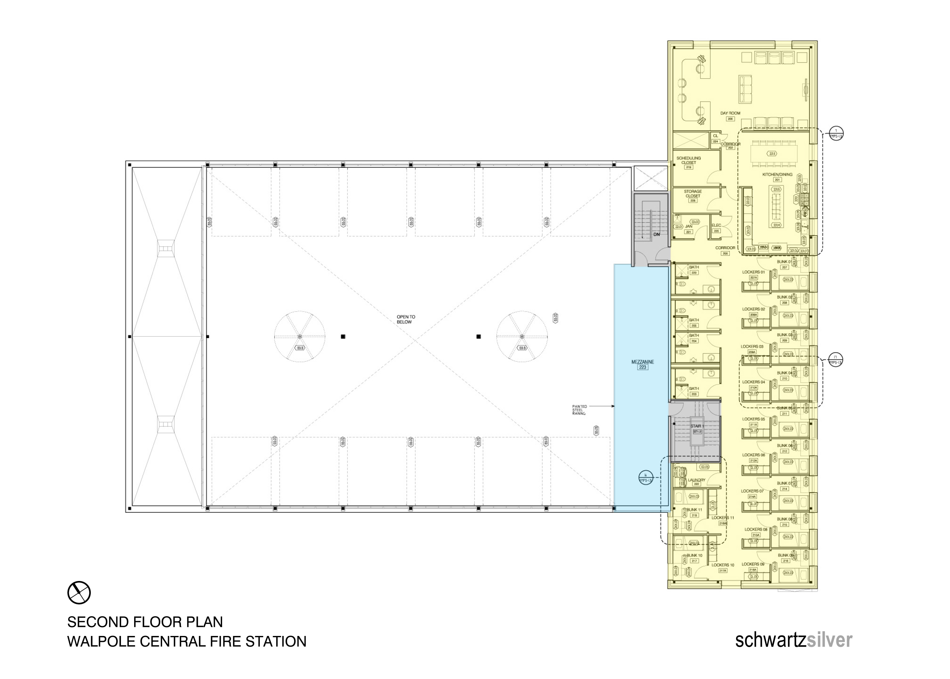 What Are Some Common Fire Station Floor Plans