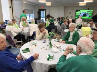 St. Patrick's Day Breakfast - Walpole Fire Department host and cooks in the kitchen!